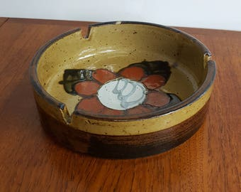 Italian Ceramic Pottery Ashtray