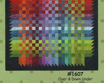 Over & Down Under, Bonnie Sullivan, DIY Quilt Pattern