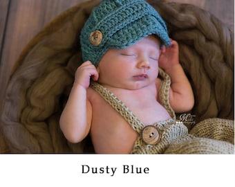 Baby Boy Hat, Baby Hat, Newborn Hat, Crochet Hat, Infant  Newsboy Hat, Newborn Boy Clothes Clothing Photo Prop Baseball Cap Hat, Baby