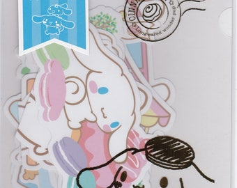Sanrio Original Cinnamoroll Decoration Die Cut Stickers in A5 File Folder Organizer (021857) Buy other items together for BETTER price
