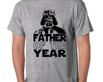 Father's Day Star Wars Tee Father of the Year Shirt Funny Darth Vader I am your Father #1 Dad in Galaxy Gift