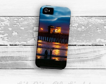 Beach iPhone 6s Case -  Ocean iPhone 6 Plus Case - Pier iPhone 5c Case - iPhone 5s Case - Night  - Dramatic iPhone Case iPhone Case - Beach