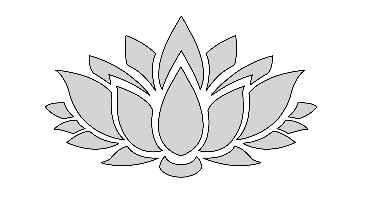 8 w string art lotus flower pattern template zoom pronofoot35fo Choice Image