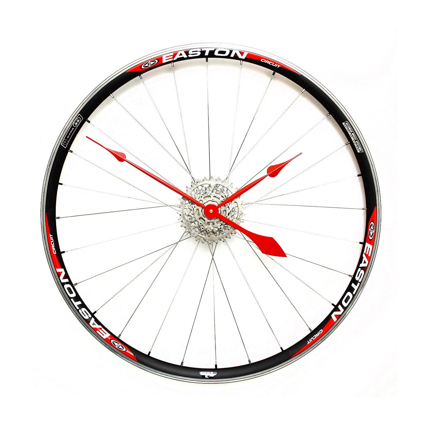 Large Wall Clock Bicycle Wheel Clock Bicycle Clock Bike