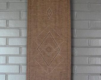 Linen table runner / wall hanging
