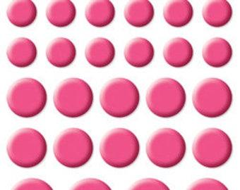 Bella Blvd Color Chaos Enamel Dots, Scrapbook Stickers/Embellishments - Punch