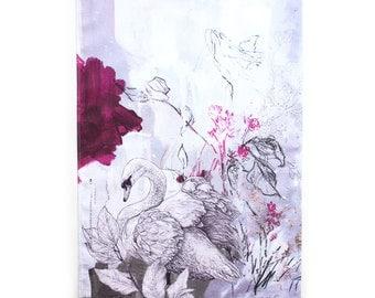 Mute Swan Tea Towel