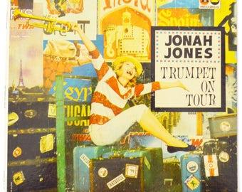 Vintage 60s Jonah Jones Trumpet On Tour Jazz Album Record Vinyl LP