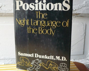 Vintage Sleep Positions The Night Language of the Body 1977 Samuel Dunkell