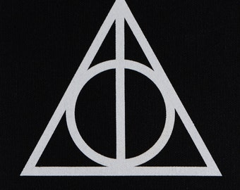 Deathly Hallows patch harry potter inspired