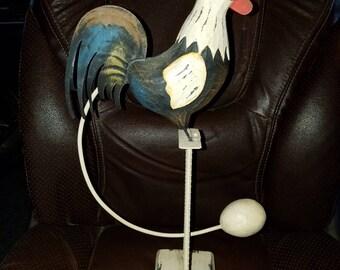 Metal Rooster Balancing Toy