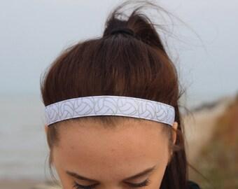 Glitter Womens Sport Volleyball Headband - Volleyball Team Headbands for Girls - Athletic Headband Adult Volleyball Gifts - Glitter Headband