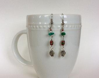 Mulan's pick - Drop earrings