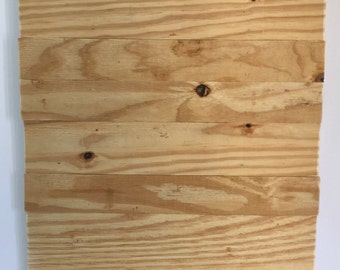 DIY Wood Sign -- Unfinished Wood Pallet -- Wood Sign --  Blank Pallet Sign