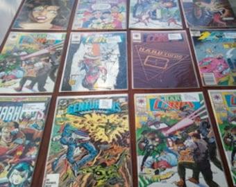 Vintage, Comic Books, Valiant Comics, Now Comics, Marvel Comics, DC Comics, Archie Comics, Collection, RhymeswithDaughter