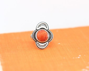 Apple Coral Ring // Statement Ring // Made to Order