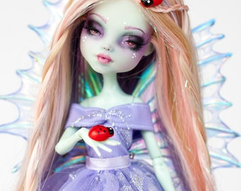 Luna - One of a kind Monster High Frankie repaint