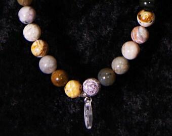 Ocean Jasper Bracelet, Ocean, Jasper, Gemstone, Bracelet