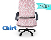 NEW A Lotta Dots-Pink Chirt Office Chair Cover