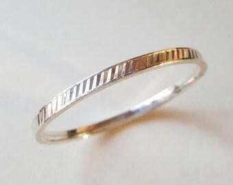 Vintage silver bangle bracelet, Andreas Daub, Pforzheim, Germany (F759)