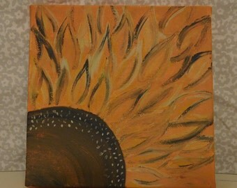 Sunflower Painting, Canvas Art