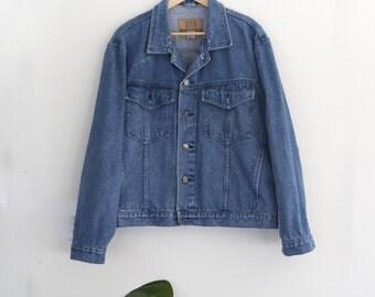 Blue Boyfriend Denim Jacket