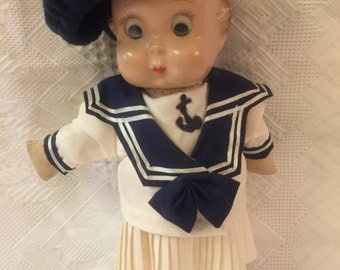 Antique sweet character googly doll by Freundlich