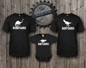 Dinosaur Matching Shirt Set,adult dinosaur tshirt combo,Dinosaur Shirt Set,Baby shirt set,Daddy dinosaur shirt,baby dinosaur shirt,BAM_004