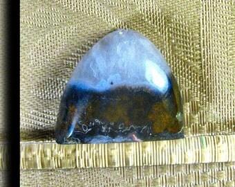 Geode Agate  Designer Crystal Cabochon 1018