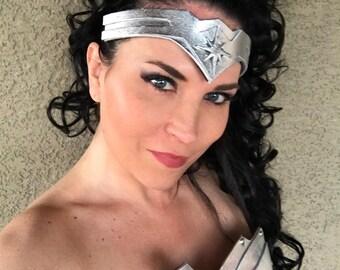 NEW Wonder Superhero Woman TIARA Fits Adults and Children