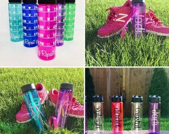 Water Intake Tracker // water bottle // workout bottle // personalized // drink your water // custom water bottle // fitness // gym bottle