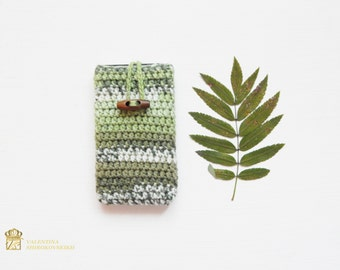 Gift for brother, gift for dad. Cell phone case. Knit Phone Case Knit IPhone Sleeve Phone Case Smartphone Cover