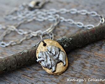 Pomeranian Necklace, Pomeranian Jewelry, Dog Necklace