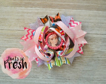 Moana Hair Bow, Moana Hair clip , Moana Birthday, Moana Party , Disney Moana Headband, Moana svg, Moana dress, Moana hairbow, Moana