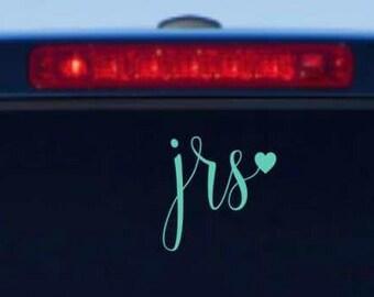 Initials Car Decal, Monogram Car Decal, Initial Decal, Monogram Decal, Tumbler Decal, Locker Decal, Laptop Decal, Car Sticker, Car Decal