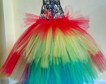Parrot Costume Tutu, Unique Halloween Costume