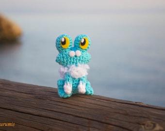 Froakie Amigurumi - Froakie crochet - Froakie handmade - Pokemon Amigurumi - Froakie gift - Amigurumi Froakie - Amigurumi Pokemon