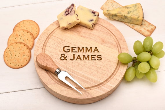 Wedding Gift Knife Set : ... Knife Set. Wedding Gift Cutting Board, Gift for Couples Cheesy Gift