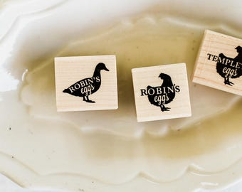 Custom Duck Egg Stamp with Free Shipping to US