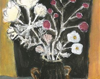 Original Painting - Blooming gracefully