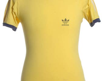 yellow adidas jumper