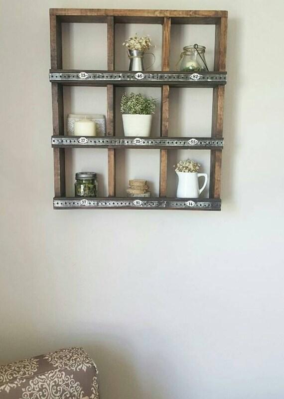 Wall Cubby Organizer - Wall Cubby Shelf - Cubby Organizer