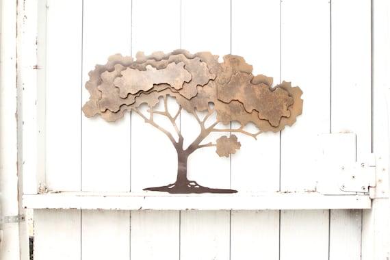 arbre de vie wall art art mural d coration murale en m tal. Black Bedroom Furniture Sets. Home Design Ideas