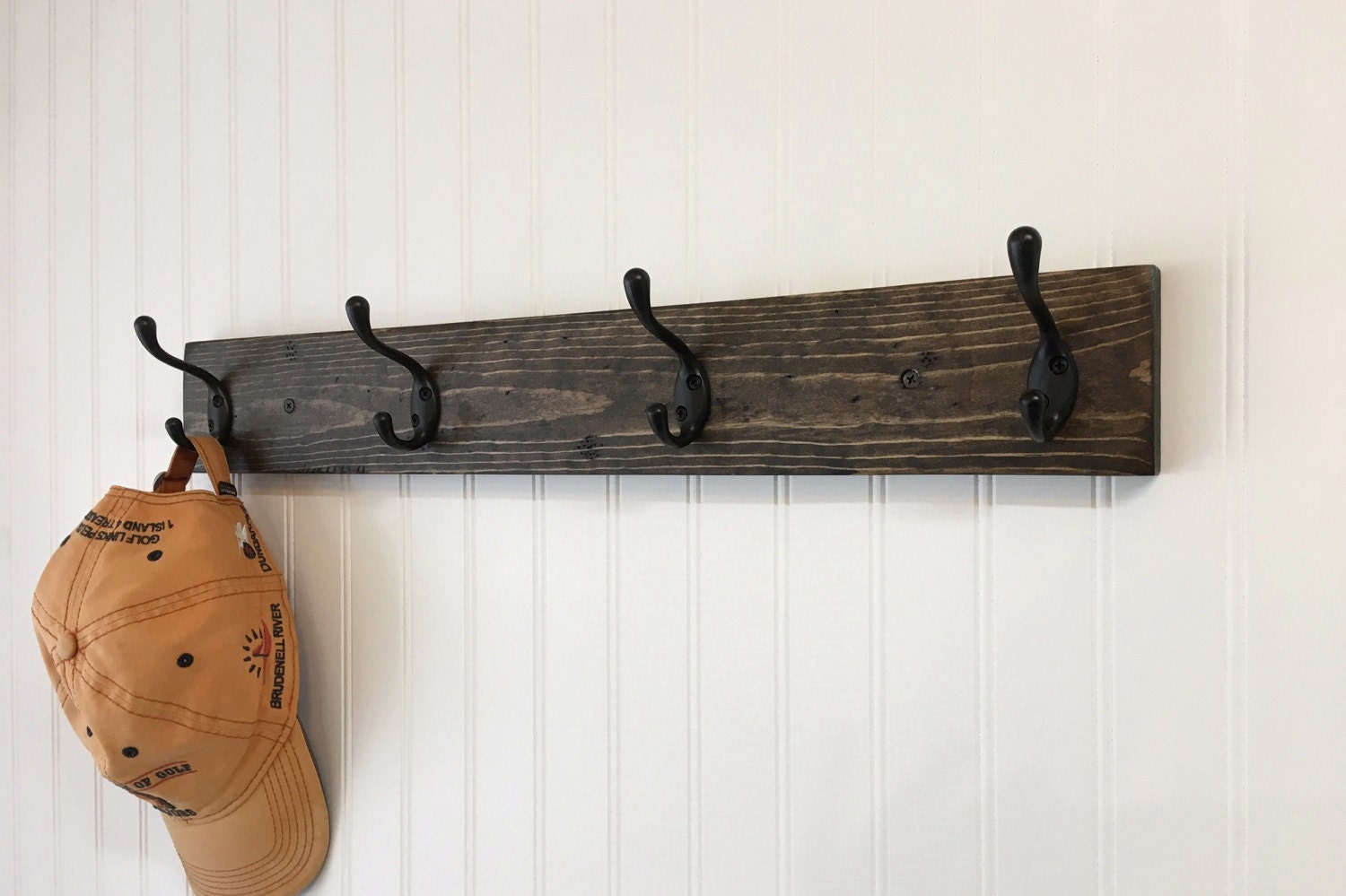 Rustic Wood Wall Coat Rack With Mason Jar Entryway Storage Coat Hooks With Storage