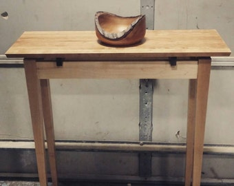 Floating Top Hallway Console Table