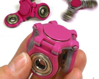 gogofidget  FLEXX 2-Tone Folding Fidget Spinner STEEL Center Bearing and Cap Set - Cheap SHIPPING!