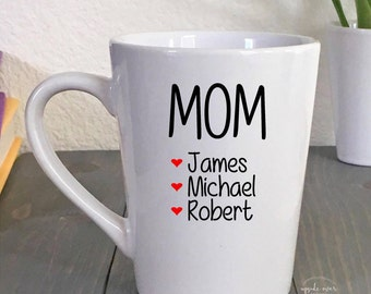 Mom Mug - Gift for Mom - Mom Coffee Mug - Mom Gift - Mothers Day Gift - Personalized Coffee Mugs