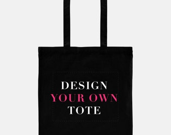 Design Your Own Tote, Totebag Mockup, Custom Canvas Bag, Personalized Tote, Custom Tote, Wholesale Tote, Bridesmaids, Party Favors, Canvas