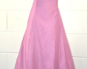 Vintage Prom Bridesmaid Ballgown Dress With Matching Pashmina UK Size 16/18 (F1216)