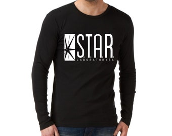 Star Laboratories Long Sleeve, Star Laboratories Long Sleeve Star Laboratories Long Sleeve Christmas Gift Husband Gift Women Clothing